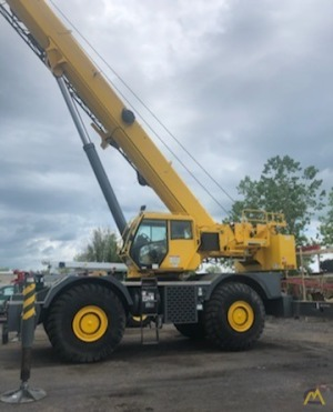 2012 Grove RT880E 80-Ton Rough Terrain Crane