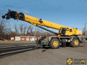 2012 Grove RT9150E 150-Ton Rough Terrain Crane