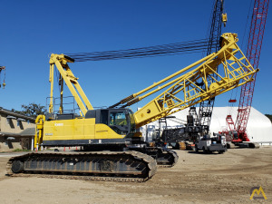 2012 Kobelco CK1600G 160-Ton Lattice Boom Crawler Crane
