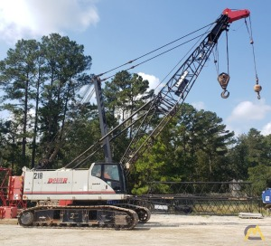 2012 Link-Belt 218 HSL 110-Ton Lattice Boom Crawler Crane