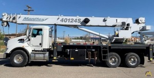 2012 Manitex 40124S 40-Ton Boom Truck Crane on 2013 Kenworth