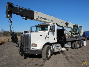 2012 National NBT45 45-Ton Boom Truck Crane on 2013 Peterbilt 365