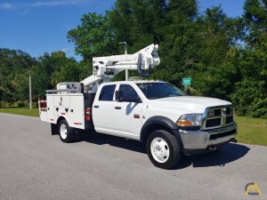 2012 Ram 5500 Crew Cab 4x4 Altec AT40G 45' Bucket Truck