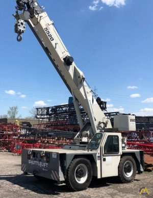 2012 Shuttlelift CD5520 20-Ton Carry Deck Crane