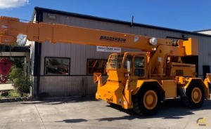 2013 Broderson RT-300-2G 15-Ton Down Cab Rough Terrain Crane