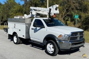 2013 Dodge Ram 5500 4x4 Altec AT37G 42' Bucket Truck