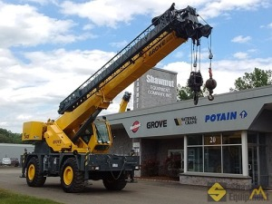 2013 Grove RT540E 40-Ton Rough Terrain Crane