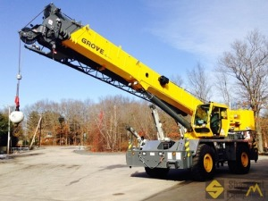 2013 Grove RT650E 50-Ton Rough Terrain Crane