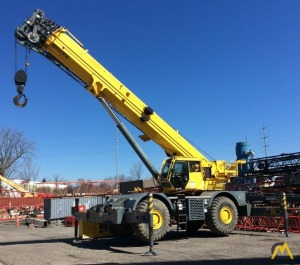 2013 Grove RT890E 90-Ton Rough Terrain Crane