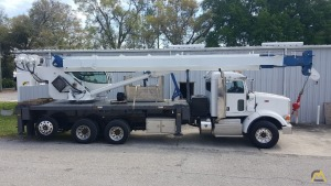 Manitex 40124SHL 40-Ton Boom Truck on Peterbilt