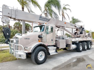 Manitex 5084S 50-ton Boom Truck Crane with LOW HOURS!!