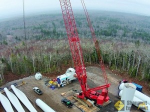 Manitowoc 16000 440-ton Lattice Boom Crawler Crane with WA & BRS