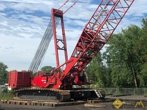 2013 Manitowoc 16000 440-Ton Lattice Boom Crawler Crane