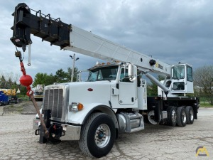 Altec AC38-127S 38-Ton Boom Truck Crane Mounted on Peterbilt 367