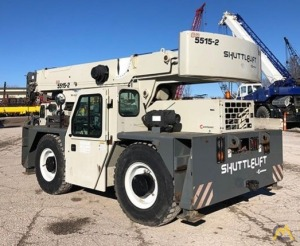 2013 Shuttlelift CD 5515-2 15-Ton Carry Deck Crane