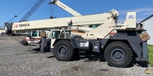 2013 Terex CD 225 25-Ton Down Cab Rough Terrain Crane -- Only 359 Hours