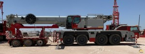2013 Terex Demag AC 100-4L 120-Ton All Terrain Crane (Low Hours)