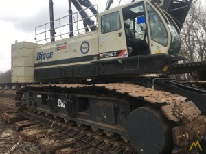 2013 Terex HC165 165-Ton Lattice Boom Crawler Crane