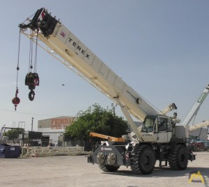 2013 Terex RT555-2 55-Ton Rough Terrain Crane