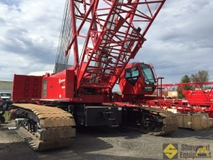 2014 Manitowoc MLC165 182-Ton Lattice Boom Crawler Crane