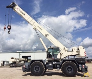 2014 Terex RT 780 80-Ton Rough Terrain Crane Available