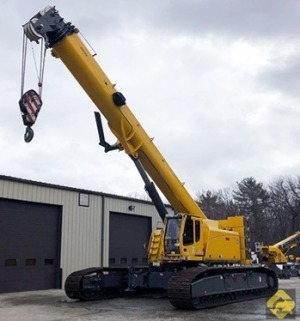 2015 Grove GHC130 132-Ton Telescopic Crawler Crane