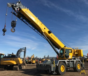 2015 Grove RT650E 50-Ton Rough Terrain Crane
