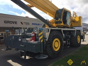 2015 Grove RT9130E-2 130-Ton Rough Terrain Crane