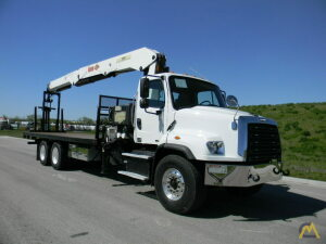 2015 IMT 28562 mounted to 2015 Freightliner 114SD chassis