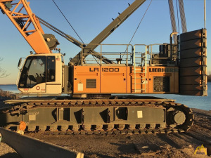 Liebherr LR 1200 220-Ton Lattice Boom Crawler Crane