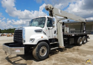 2015 National Series 800D Model 8100D 23-Ton on Freightliner 108SD Boom Truck Crane