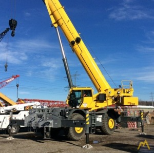 2016 Grove GRT8100 100-Ton Rough Terrain Crane