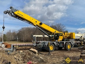 2016 Grove RT650E 50-Ton Rough Terrain Crane