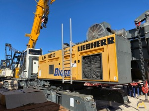 2016 Liebherr LR 1160 200-Ton Lattice Boom Crawler Crane