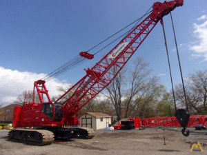 2016 Manitowoc 11000-1 110-Ton Lattice Boom Crawler Crane