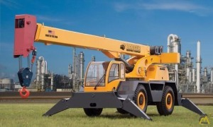 Badger CD4430 30-Ton Down Cab Rough Terrain Crane
