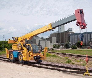 Badger CD4430R 30-Ton Down Cab Rough Terrain Crane