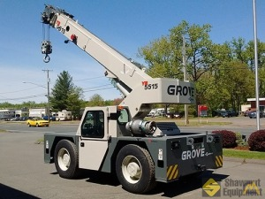 2017 Grove YB5515DF 15-Ton Dual Fuel Carry Deck Crane