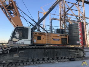 2017 Liebherr LR 1300 SX 350-Ton Lattice Boom Crawler Crane