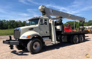 2017 National Series 900A Model 9103A 26-Ton Boom Truck Crane on Peterbilt 348