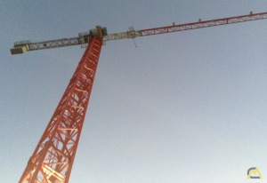 Saez TLS 65B 11-Ton Flat Top Tower Crane