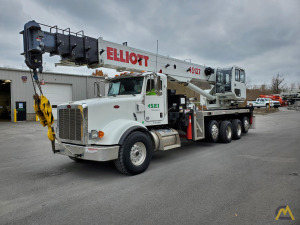 2018 Elliott 45127R Mounted on 2018 Peterbilt 367