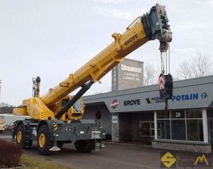 2018 Grove GRT880 80-Ton Rough Terrain Crane