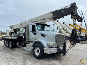 2018 National NBT40-127 40-Ton Boom Truck Crane Mounted on Peterbilt 567