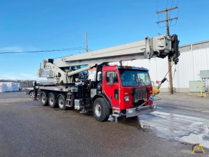 2018 National NTC55128 55-Ton Boom Truck Crane on 2019 Peterbilt 520