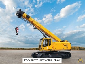 2019 Grove GHC55 55-Ton Telescopic Crawler Crane