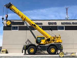 2019 Grove GRT8100 80-Ton Rough Terrain Crane