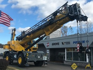 2019 Grove GRT8100 100-Ton Rough Terrain Crane