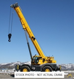 2019 Grove GRT880 80-Ton Rough Terrain Crane