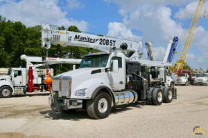 2019 Manitex 2085T mounted to 2020 Kenworth T880 chassis